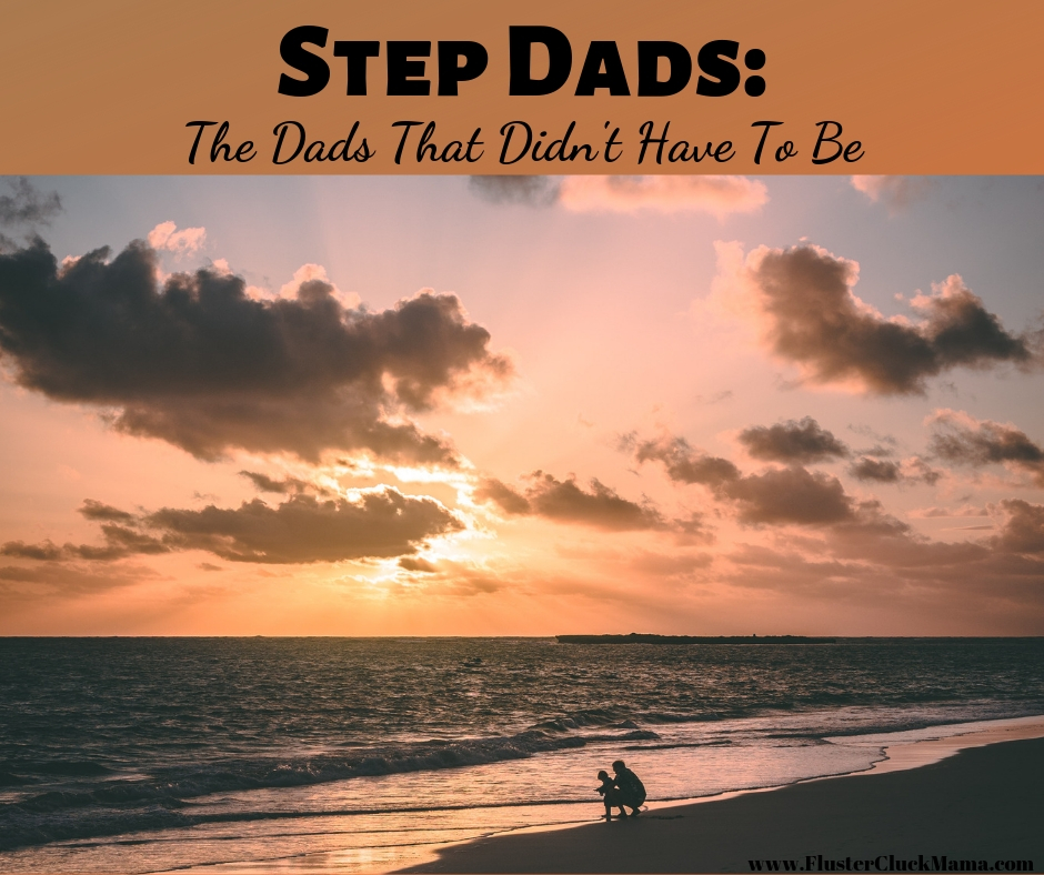 Stepdads: Dads that didn't have to be