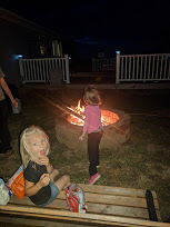 Get your kids outside with a bonfire